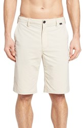 Hurley Men's 'Dry Out' Dri Fit Tm Chino Shorts Oatmeal