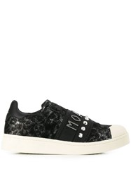 Moa Master Of Arts Imaculate Studded Sneakers Black
