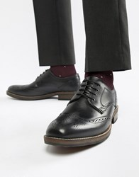 Red Tape Swinley Lace Up Brogues In Black