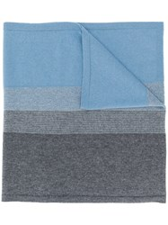 D.Exterior Two Tone Scarf Grey