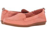 Hush Puppies Endless Wink Coral Nubuck Women's Slip On Shoes Red