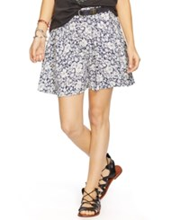 Denim And Supply Ralph Lauren Floral Print A Line Skirt