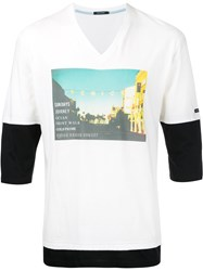 Guild Prime Photographic Layered T Shirt White