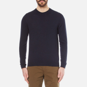 Paul Smith Ps By Men's Crew Neck Knitted Jumper Navy Blue