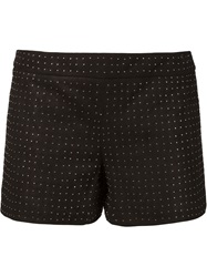 Alice Olivia Alice Olivia Studded Shorts Black