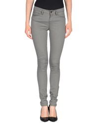 Pieces Trousers Casual Trousers Women Grey