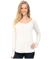 Kuhl Alva Thermal Cream Swirl Women's Long Sleeve Pullover