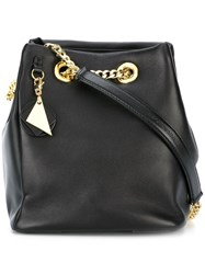 Emporio Armani Bucket Shoulder Bag Black