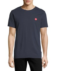 Wesc Max Icon Patch T Shirt Navy