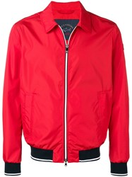 Paul And Shark Overshirt Sports Jacket Red