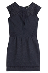 The Kooples Lace Detailed Mini Dress