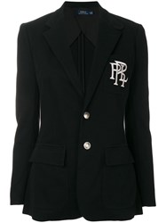 Polo Ralph Lauren Classic Fitted Blazer Black