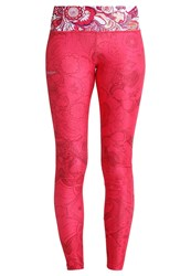 Desigual Tights Paisley Pink