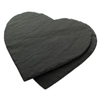 The Just Slate Company Heart Placemats Set Of 2