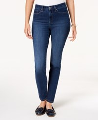Charter Club Windham Tummy Control Skinny Jeans Baltic Wash