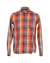 White Mountaineering Shirts Orange