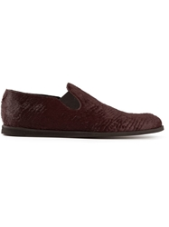 Opening Ceremony 'M4' Slip On Shoes Red