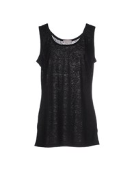 Bruno Manetti Topwear Vests Women Black