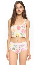 Wildfox Couture Bright Roses Cami Multi