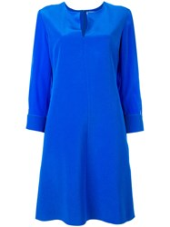 Dorothee Schumacher Flared Dress Blue
