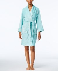 Charter Club Super Soft Wrap Robe Only At Macy's Aqua