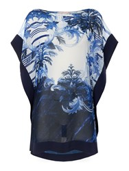 Ted Baker Persian Short Cover Up Blue