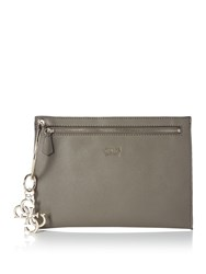 Guess Digital Ring Clutch Bag Grey