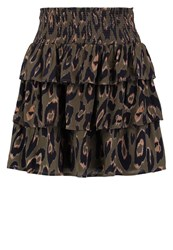 Vero Moda Vmrowena Mini Skirt Ivy Green