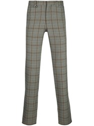 Sophnet. Herringbone Check Tailored Trousers 60