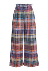 Missoni Cropped Plaid Pants Multicolored