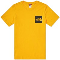 The North Face Fine Tee Yellow