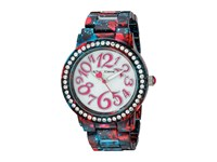 Betsey Johnson Bj00482 10 Floral Galaxy Navy Watches