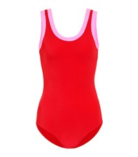 Valentino One Piece Swimsuit Red