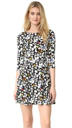 Suno Fit And Flare Dress Multicolor Floral