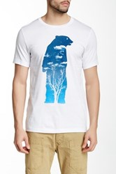 Arka Bear Woods Tee White