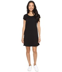 Mod O Doc Classic Jersey Seamed T Shirt Dress Black Women's Dress