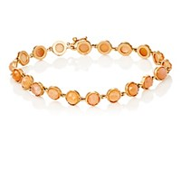 Irene Neuwirth Women's Gemstone Round Link Bracelet Gold No Color Gold No Color