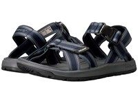 Bogs Rio Sandal Stripes Navy Multi Men's Sandals Blue