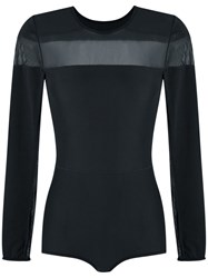 Giuliana Romanno Panelled Body Black