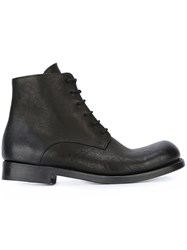The Last Conspiracy Lace Up Ankle Boots Black