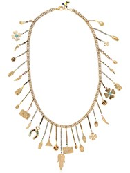 Rosantica Malocchio Necklace W Lucky Charms Gold