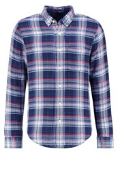 Abercrombie And Fitch Muscle Fit Shirt Blue Check