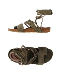 Paco Gil Sandals Military Green