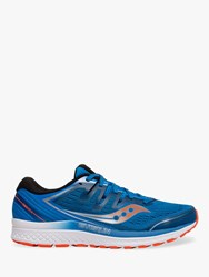 Saucony Guide Iso 2 'S Running Shoes Blue Orange
