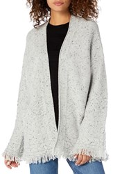Michael Stars Confetti Cable Bell Sleeve Cardigan Crescent