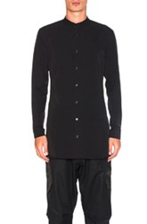 Acronym Hd Jersey Long Sleeve Shirt In Black