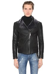 Bikkembergs Sport Couture Shearling Jacket