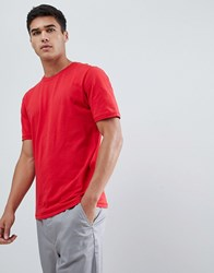 Selected Homme T Shirt Barbados Cherry Red