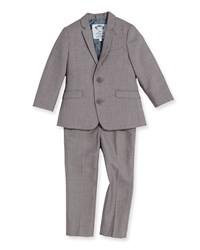 Appaman Boys' Two Piece Mod Suit Mist Blue 2T 14 Boy's