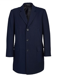 Paul Costelloe Navy Mcintyre Coat